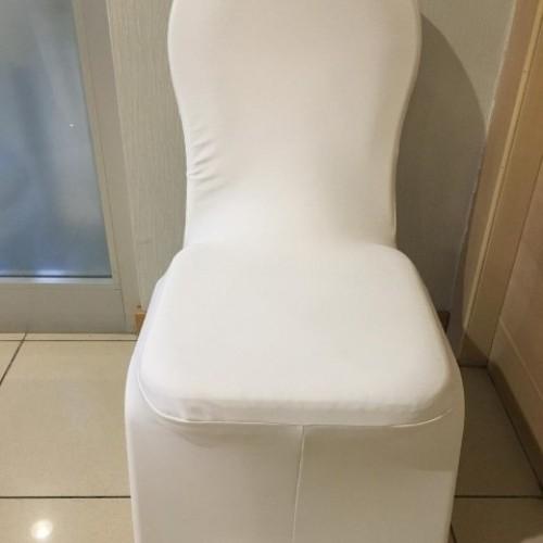 Beyaz Sandalye Kılıf